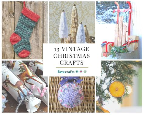 13 vintage christmas crafts favecrafts
