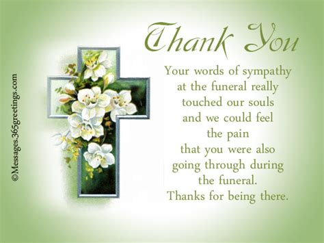 thank you letters after a funeral funeral thank you notes 365greetings