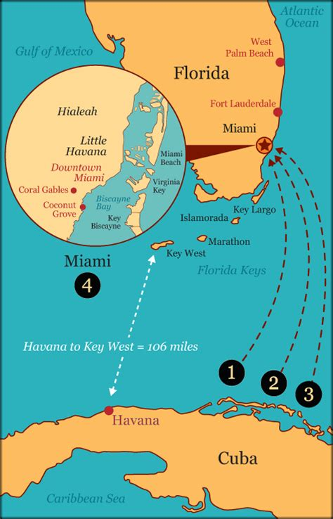 miami to cuba by boat how long journey to miami american sabor