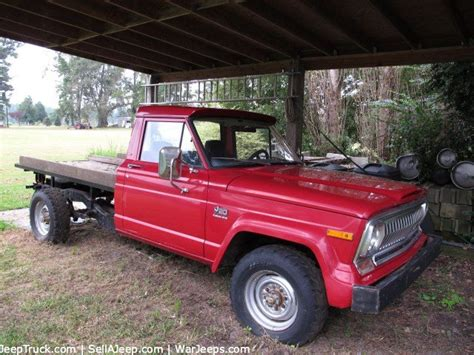 1975 Jeep J10 For Sale 1975 J20 Jeep Former Truck Just Listed For Sale On