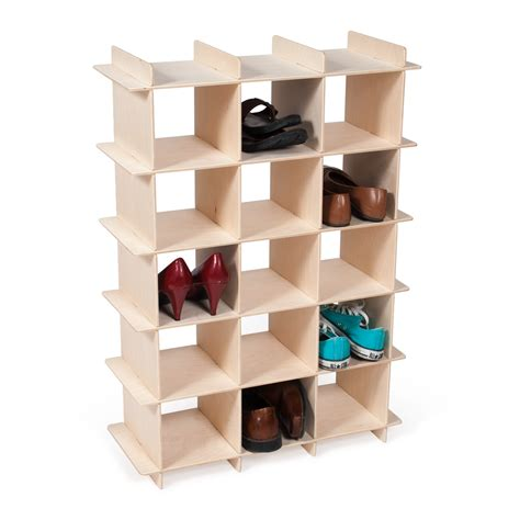 storage cubes for shoes modern wood shoe storage cubby baltic birch birch and