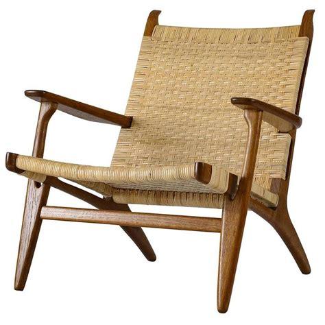 hans wegner ch  lounge chair  stdibs