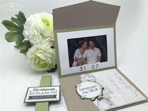 Einladung Hochzeit Zeitpunkt by Videoanleitung F 252 R Die Hochzeitseinladung Stin Up