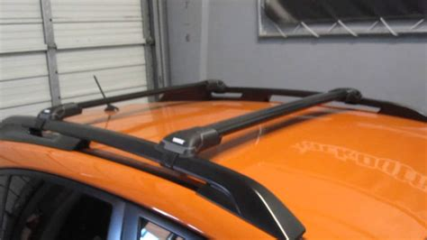 subaru xv roof racks thule subaru xv crosstrek with thule 7502 black aeroblade edge