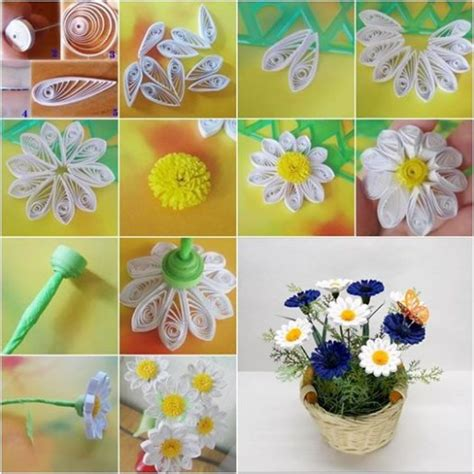 How To Make Paper Quilling Flower - how to make beautiful diy quilling flowers diy tag
