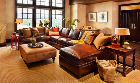 leather reclining sectional sofas 18 leather sectional sofa designs ideas design trends