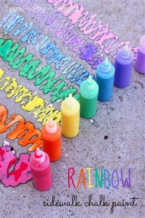 diy chalk paint with cornstarch 15 ways to play with cornstarch cornflour sidewalk