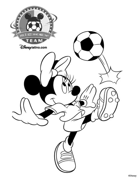 mickey mouse soccer coloring page free coloring pages of minnie mouse pluto