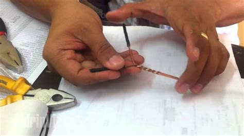 types of electrical wire joints electrical wire splices and joints through fixture joint