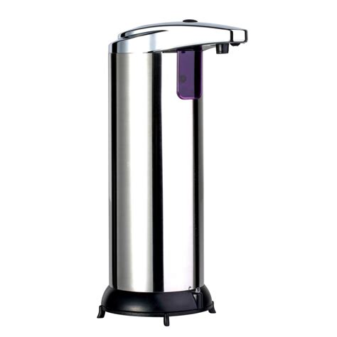 automatic soap dispensers for bathroom 280ml new stainless steel ir sensor touchless automatic
