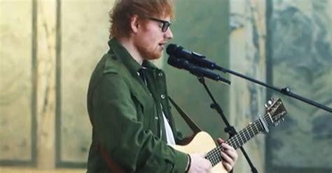 ed sheeran voice type ed sheeran sings popular justin bieber song which he