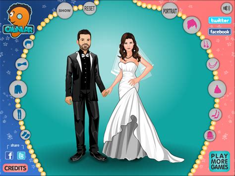 bride and groom score dress up starfall starfall play games