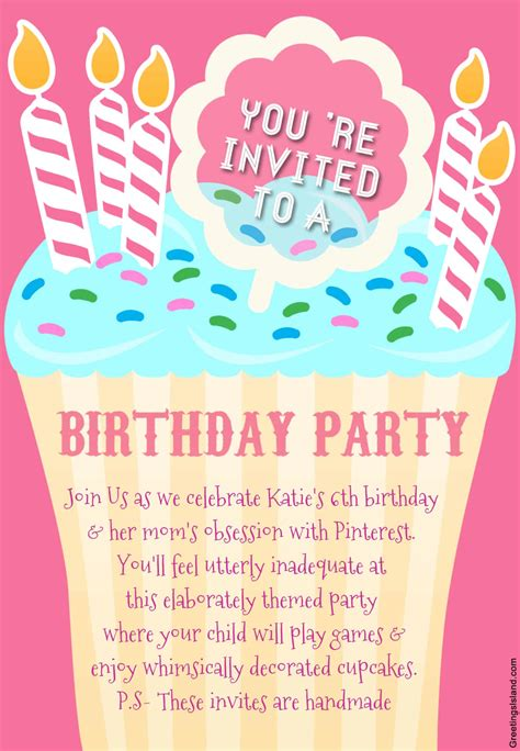 birthday invitations honest birthday invitations