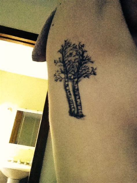 birch tree tattoo 17 best ideas about birch tree tattoos on deer