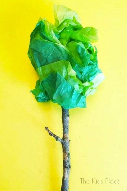 Tissue Paper Tree Craft - 112 best earth day images on earth day crafts