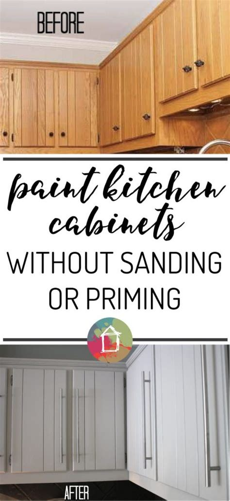 can you paint your kitchen cabinets how to paint kitchen cabinets without sanding or priming