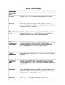 project charter document template best photos of charter document exle project charter