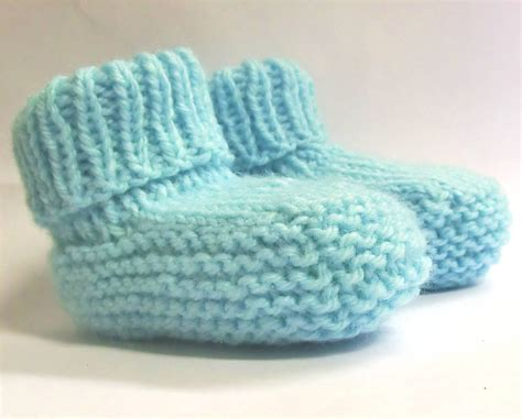Baby Booties Knitting Pattern Pdf Instant