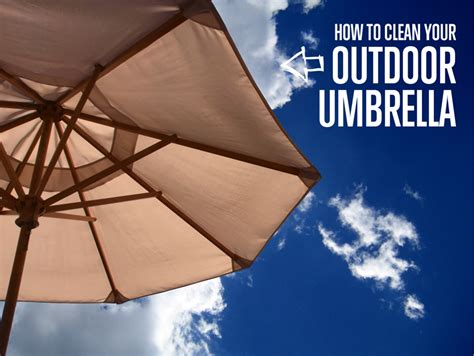 How To Clean Your Outdoor Umbrella The Maids Blog How To Clean Patio Umbrella