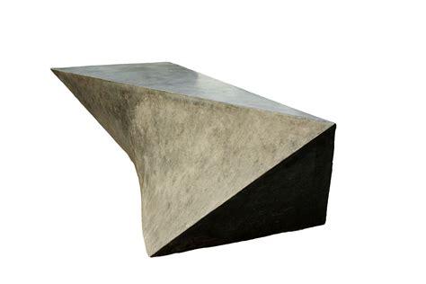 modern concrete bench custom concrete geometric bench by 910 castings