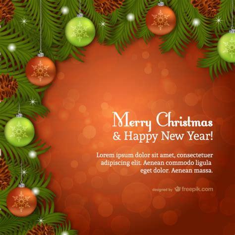 Kostenlose Vorlage Weihnachtskarte Weihnachtskarte Vorlage Mit Funken Der Kostenlosen Vektor