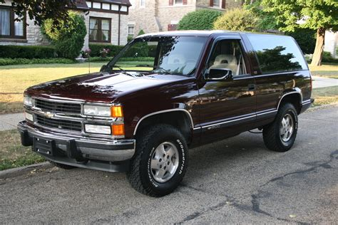 how to fix cars 1994 chevrolet blazer regenerative braking 1995 chevrolet tahoe overview cargurus