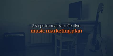 5 Step Marketing Plan A Sales And Marketing Strategy For 5 steps to creating an effective marketing plan