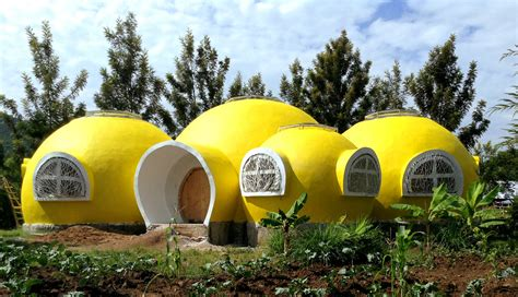 home decor blogs in kenya bright yellow dome home completed for mama dolfine s