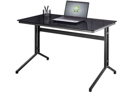Metal Frame Computer Desk by Alphason Splice Desk Computer Workstation Charcoal