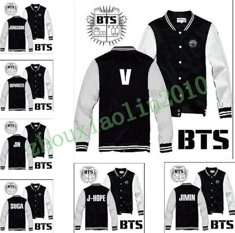Hoodie Valor Leo Cloth 4 details about kpop bts bangtan boys team fashion buttons