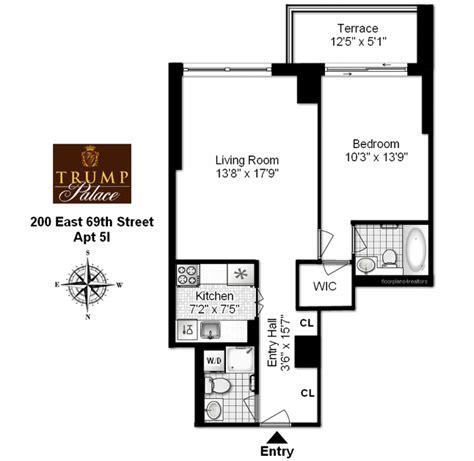 trump palace floor plans trump palace 200 east 69th street upper east side