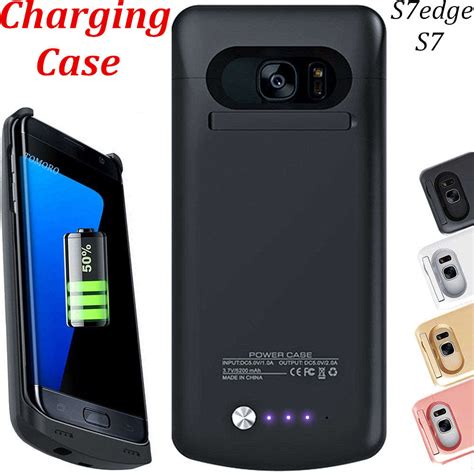 Trand Samsung Galaxy S7 Edge Backpack Black Original Tsp387 s7 for samsung galaxy s7 edge accessory charge battery cover back phone charger