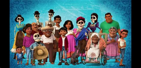pixar s coco is for the whole family spokane7 dec a family photo from coco coco pinterest disney pixar