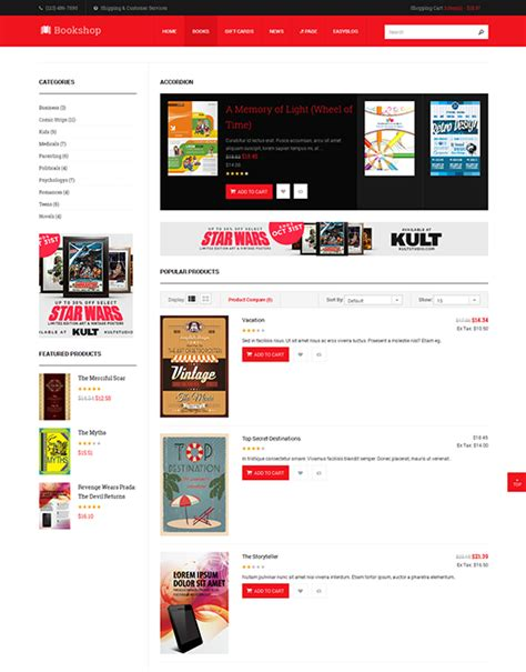 template joomla free ecommerce ja bookshop responsive joomla template for joomla 3 2