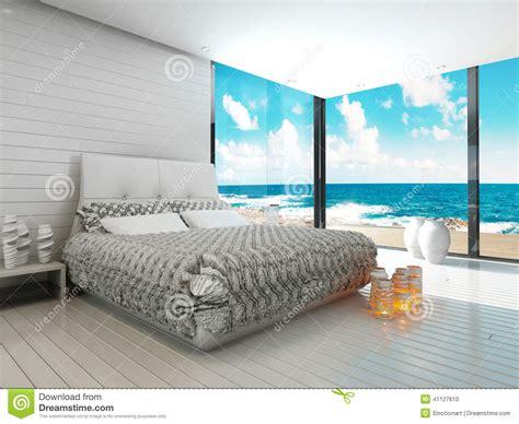 da letto stile mare interno bianco della da letto in una vista