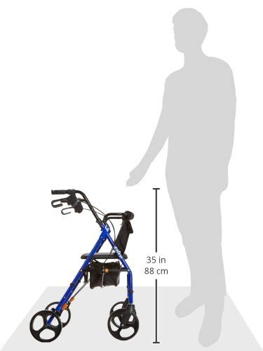 rollator with seat second hugo elite rollator walker with seat backrest and saddle