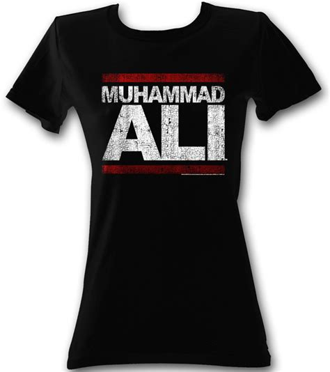 Muhammad Ali Black Shirt muhammad ali juniors t shirt run ali black shirt