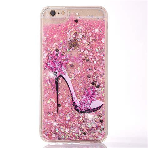 ucll iphone 7 plus glitter iphone 8 plus liquid high heeled moving bling