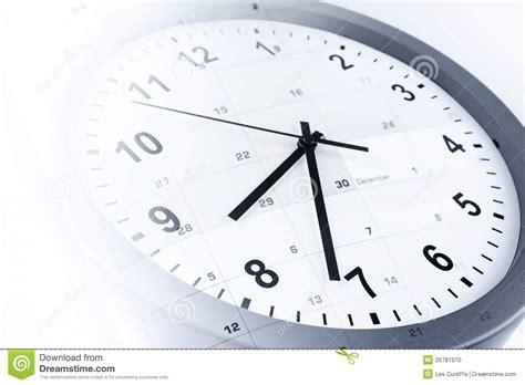 Faced Calendar by Clock And Calendar Stock Photo Image Of Conceptual Macro