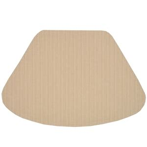 wedge placemats for round table wedge placemats golden yellow and tan canvas stripe wedge