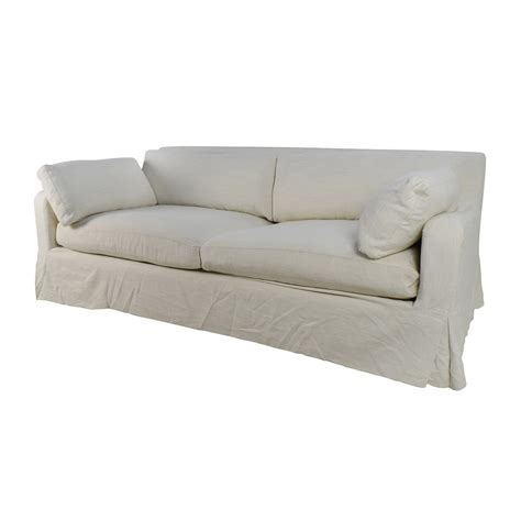 Slipcovered Sleeper Sofa Restoration Hardware Sofa Slipcover Roll Arm Slipcovered Sleeper Sofa Thesofa