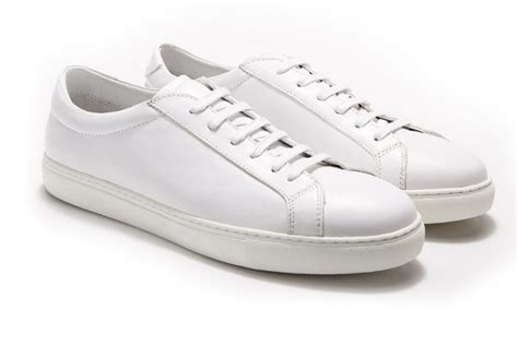 white leather sneaker white leather sneakers are the new black