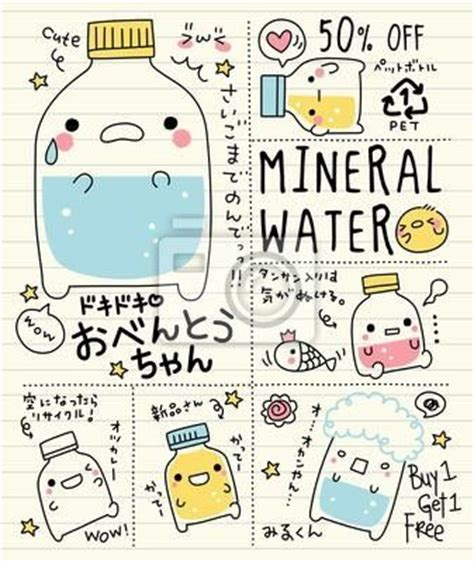 doodle korea mineral water doodles and minerals on