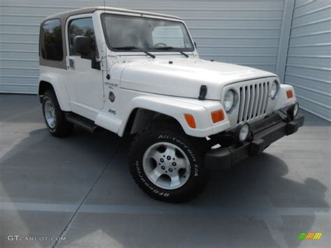 2001 white jeep wrangler 4x4 78698394 gtcarlot car color galleries