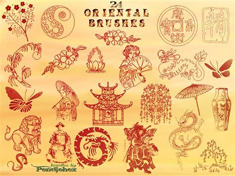 oriental pattern brush photoshop asian brush photoshop images