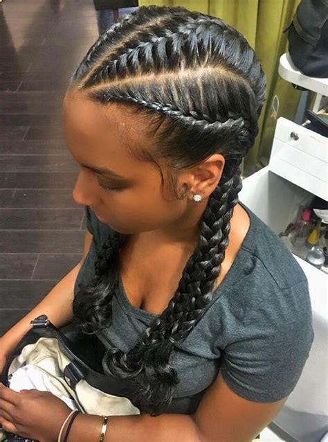 nice hairstyles using braids nice braids via sabrina cp http community