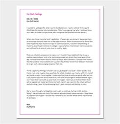 Apology Letter To Your For Hurting Apology Letter Template 33 Sles Exles Formats