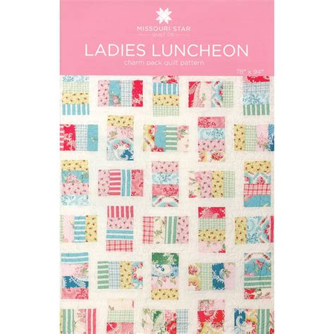 Missouri Quilt Company Daily Deal by Luncheon Quilt Pattern Msqc Missouri Quilt Co