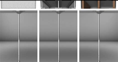X Pole Ceiling Damage by Xpert X Pole 2014 Present Model Installation The