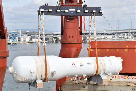 mhi delivers three steam generators to cruas npp news